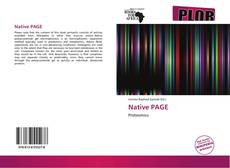 Couverture de Native PAGE