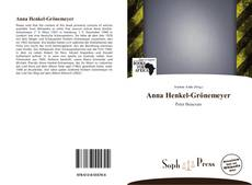 Borítókép a  Anna Henkel-Grönemeyer - hoz