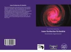 Buchcover von Anna Katharina Kränzlein