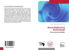 Portada del libro de Anna Katharina Schönkopf