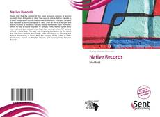 Capa do livro de Native Records