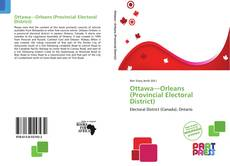 Copertina di Ottawa—Orleans (Provincial Electoral District)