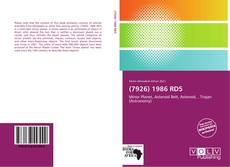 Bookcover of (7926) 1986 RD5