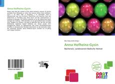 Copertina di Anna Hofheinz-Gysin