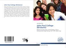 Copertina di John Paul College (Brisbane)