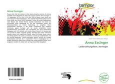 Portada del libro de Anna Essinger