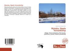 Обложка Wytoka, Opole Voivodeship