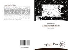 Anna Maria Schulte的封面