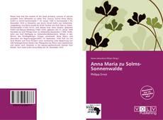 Buchcover von Anna Maria zu Solms-Sonnenwalde