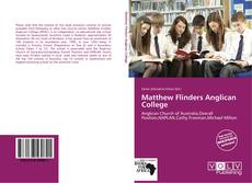 Copertina di Matthew Flinders Anglican College