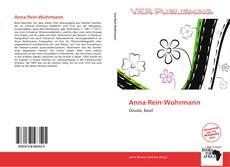 Buchcover von Anna Rein-Wuhrmann