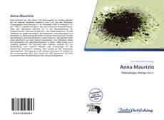 Portada del libro de Anna Maurizio