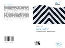 Couverture de Anna Neuhof