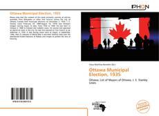 Bookcover of Ottawa Municipal Election, 1935