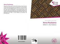 Bookcover of Anna Paulowna