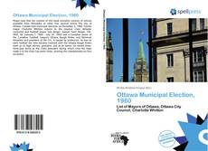 Bookcover of Ottawa Municipal Election, 1960