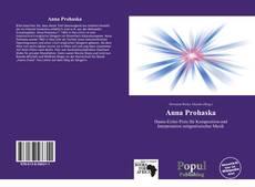 Anna Prohaska kitap kapağı
