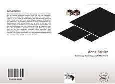Portada del libro de Anna Reitler