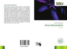 Portada del libro de Anna Scharewitsch