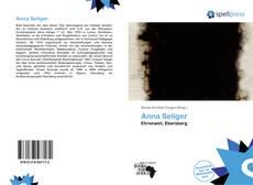 Обложка Anna Seliger
