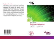 Buchcover von Rogiera Gratissima