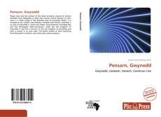 Pensarn, Gwynedd kitap kapağı