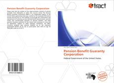 Обложка Pension Benefit Guaranty Corporation