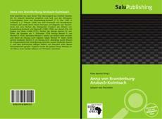 Bookcover of Anna von Brandenburg-Ansbach-Kulmbach