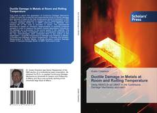 Bookcover of Ductile Damage in Metals at Room and Rolling Temperature