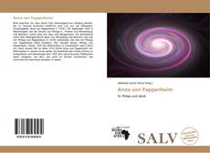 Buchcover von Anna von Pappenheim