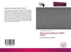 Bookcover of Anna von Sachsen (1567–1613)