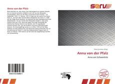 Capa do livro de Anna von der Pfalz