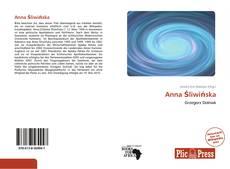 Portada del libro de Anna Śliwińska