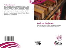Bookcover of Andrew Benjamin