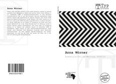 Portada del libro de Anna Wörner