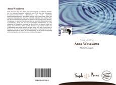 Обложка Anna Wosakowa