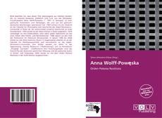 Capa do livro de Anna Wolff-Powęska