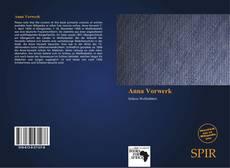 Portada del libro de Anna Vorwerk