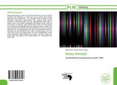 Portada del libro de Anna Verouli