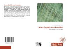 Portada del libro de Anna Sophia von Preußen