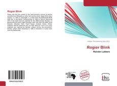 Couverture de Rogier Blink