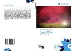 Portada del libro de Rogier Meijer