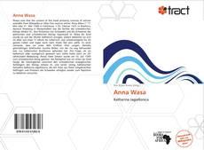 Portada del libro de Anna Wasa