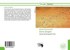Portada del libro de Anna Ziegler