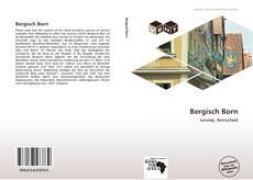 Portada del libro de Bergisch Born