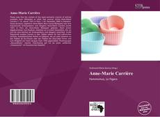 Bookcover of Anne-Marie Carrière