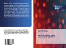 Bookcover of Medical devices under microgravity conditions