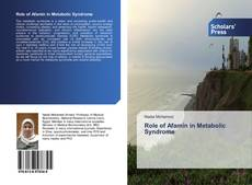 Bookcover of Role of Afamin in Metabolic Syndrome