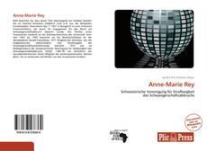 Capa do livro de Anne-Marie Rey