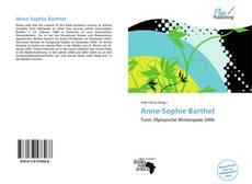Обложка Anne-Sophie Barthet